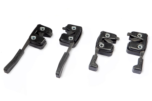 Back Seat Latch Assembly for Passenger Cars